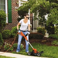 BLACK+DECKER Electric Trimmer/Edger and Mower, - Home & Kitchen Features - Lawn & Garden - Frequently updated comprehensive online shopping catalogs