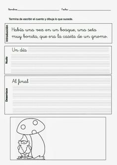 cuento para completar Spanish Classroom Activities, Preschool Education, Class Activities, High School Spanish, Spanish Teacher, Teaching Spanish, Speech Language Therapy, Speech And Language, Dual Language Classroom