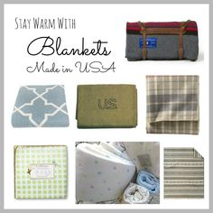 Blankets Made in USA