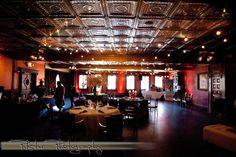 Tin ceiling...
