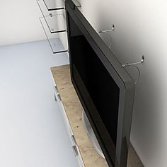 Flat Screen TV Safety Cable