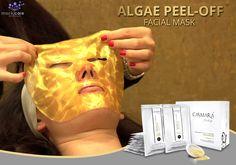 Firm, rejuvenate, regenerate & sooth your skin with an Algae Peel-Off Facial Mask by #Casmara!  #Facialmask #Norabode #Srilanka