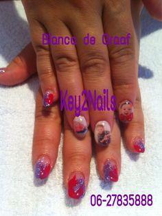 Beautiful kids stamp on Nails!