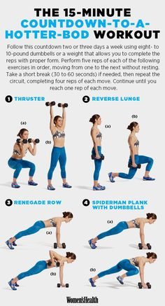 The Best 15-Minute Workouts for 2015  www.womenshealthm...