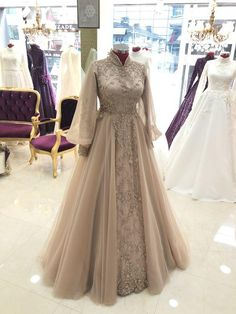 Hijab Wedding Dresses, Indian Gowns Dresses, Ball Dresses, Bridal Dresses, Evening Dresses, Prom Dresses, Stylish Dresses, Fashion Dresses, Floral Embroidery Dress