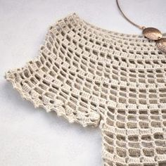 This summer top is elegant, simple and fashionable. It is designed to fit everybody's taste and to go with many fashion outfit. So, prepare your tools and gadgets to make something lovely in a couple of hours! Try making this lovely crochet top in no time to spice up your wardrobe this summer!