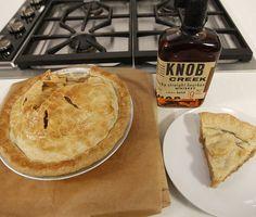 "Knob Creek Salted Caramel Apple Pie ""A drink? Don't mind if I do!"" – Knob Creek Creator, Booker Noe"