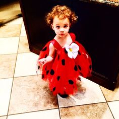 My perfect little lady bug. Happy holloween ava Jaymes. Daddy loves you. #Padgram