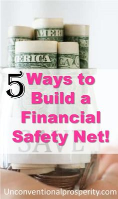 Here are the 5 best ways to build a financial safety net that we have implemented over the years! Building a financial safety net is crucial to long term happiness. Living paycheck to paycheck causes SO much stress! Earn Money Online Fast, Earn More Money, Make Money Fast, Make Money From Home, Online Jobs For Moms, Online Work From Home, Jobs From Home Legit, Money Now, Fast Cash