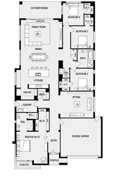 Helsink New Home Floor Plans, Interactive House Plans - Metricon Homes - Melbourne