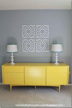 Mid Century Modern Painted Furniture On Pinterest Mid