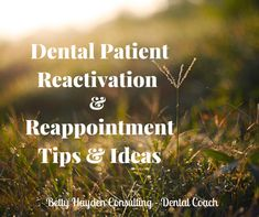 Dental Patient Reactivation and Reappointment Tips and Ideas How to fill the dental schedule/ Dentist Office Ideas Chronic Bad Breath, Dental Practice Management, Free Dental, Best Oral, Rest And Relaxation, Oral Hygiene, Healthier You, Medical Conditions, Dental Care