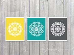 images about Mandala wall art on Pinterest Mandala