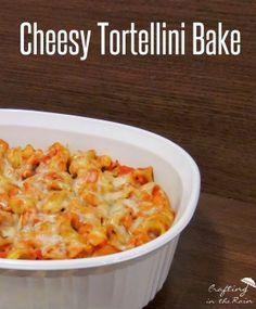Barilla Tortellini Bake   Crafting in the Rain #joytothetable #pmedia #ad