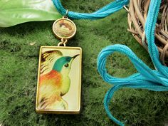 Morning Flight Necklace, FREE idea at Artbeads.com, featuring Nunn Design products