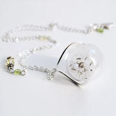 Handmade Gifts | Independent Design | Unique Jewelry Dandelion Wish Necklace - Jewelry - Girls