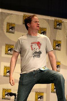 """I do not care to make a spectacle of myself. Unless I'm at Comic-Con.""  - Joss Whedon"