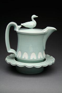Steven Godfrey - Emperor Goose Teapot Emperor Goose Teapot by Steven Godfrey, Professor of Art, University of Alaska Anchorage