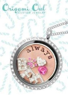 Best Friend - Origami Owl Beautiful Origami Owl Locket