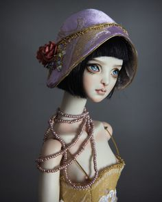 "586 mentions J'aime, 8 commentaires - Forgotten Hearts Bjd Dolls (@fhdolls) sur Instagram : ""1920's inspired accessories are now available. Visit our fanpage www.facebook.com/fhdolls for…"""