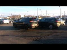 The 2016 Jeep Cherokee Trailhawk can handle the trails, and the busy city streets. Watch as we demonstrate the new Park Sense feature.