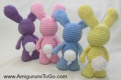 Little Bigfoot Bunny Revised 2014 Amigurumi Video Tutorial ~ Amigurumi To Go