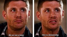 SUPERNATURAL Dean quote