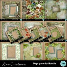 Days gone by bundle Confirmation Page, Paint Shop, Photoshop Elements, My Memory, Easy Install, Photo Book, Digital Scrapbooking, Design Elements, Memories