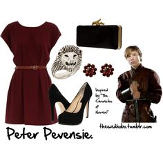 """Peter Pevensie inspired fashion"" by erfquake on Polyvore"