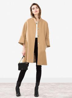 A-line cape - Outerwear - Ready to wear - Uterqüe Spain