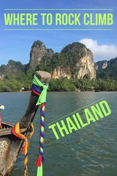One of the world's best destinations for climbing is Thailand. Thailand travel and adventure at Railay Beach for beginners to experts.#Thailand #Thailandclimbing #Thailandrockclimbing #rockclimbing