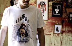 Camiseta santa evolución de Cerezo