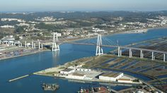 Figueira da Foz - Bridge Edgar Cardoso - PORTUGAL