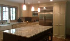 Grandfather Golf & Country Club Kitchen with Island