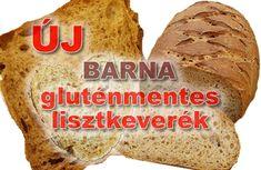 új barna gluténmentes kenyérpor