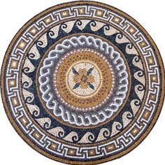 Handmade Marble Mosaic Stone Medallion Art Tiles , 32. Mosaics have endless uses and infinite possibilities! They can be used indoors or outdoors, be part of your kitchen, decorate your bathroom and the bottom of your pools, cover walls and ceilings, or serve as frames for mirrors and paintings.