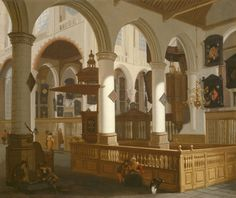 The Oude Kerk, Delft   The Art Institute of Chicago