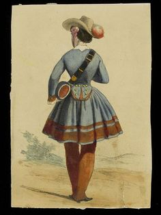 Hand-coloured lithograph- unknown artist. French,1850-1870 Though the rule vivandières had to be the wives of soldiers in their regiments wasn't always strictly enforced. Vivandières & cantinières were frequently used as advertising images by major companies, suggesting that their image was thoroughly positive & wholesome. They often headed the columns on parade & marches, suggesting that far from being a dirty secret, they were valued, celebrated & esteemed by their associated military…