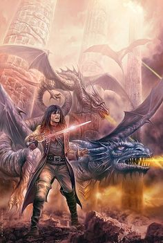 Ken Wood and Dragons by Jan Patrik Krasny
