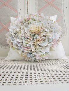 DIY::Mille Feuille cushion