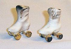 Roller Skates Salt & Pepper Shaker Set