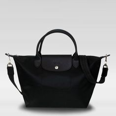 Longchamp Small Handbag - Le Pliage Neo - Black