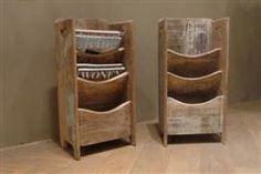 Lektuurbak - Unieke oud houten meubelen - kasten, tafels, salonkisten