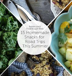 15 Homemade Snacks for Summer Road Trips Dinner Recipes For Kids, Healthy Dinner Recipes, Kids Meals, Healthy Snacks, Road Trip Snacks, Road Trips, Make Ahead Appetizers, Good Food, Yummy Food