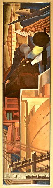 Transportation, Design Exchange, Charles Comfort, by colros, via Flickr