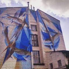 #kyiv #mural #streetart by nataliiavolkova
