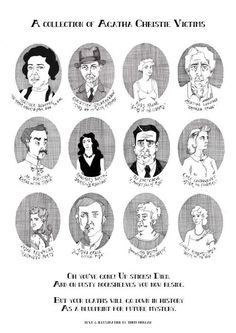 A Collection of Agatha Christie Victims...
