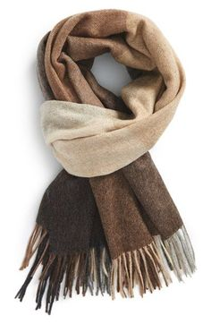 74f8dfeace762 Paul Smith Check Wool & Cashmere Scarf available at #Nordstrom Mens  Cashmere Scarf,