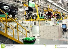 automobile assembly line - Google Search