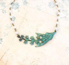 Lily of the Valley collier chaîne perle crème Ivoire bijoux